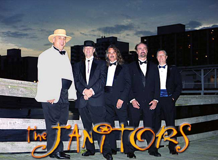 The Janitors - Rhythm & Blues, 60's Soul, 70's Funk, Country, Classic rock and current Top 40 Dance