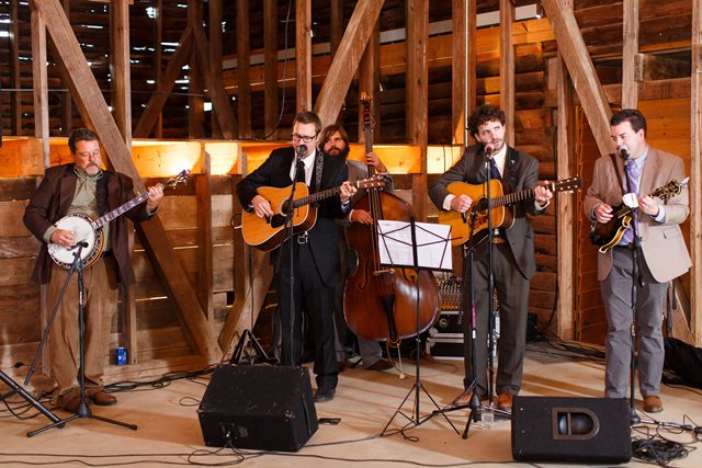 The Harwell Grice Band, bluegrass covers, traditionals, and originals