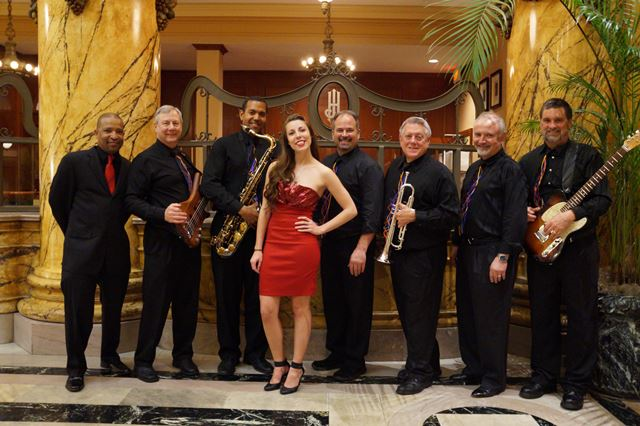 River City Party Band, cocktail music and classic swing to Motown, Beach, and today's dance music